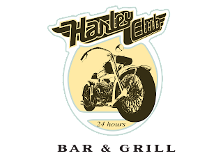 Harley Club Logo Vector download free