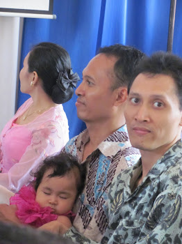 Foto Bagus Permono Sang Inovator bersama Kakak, Keponakan dan Sepupu di Wonogiri Jawa Tengah....
