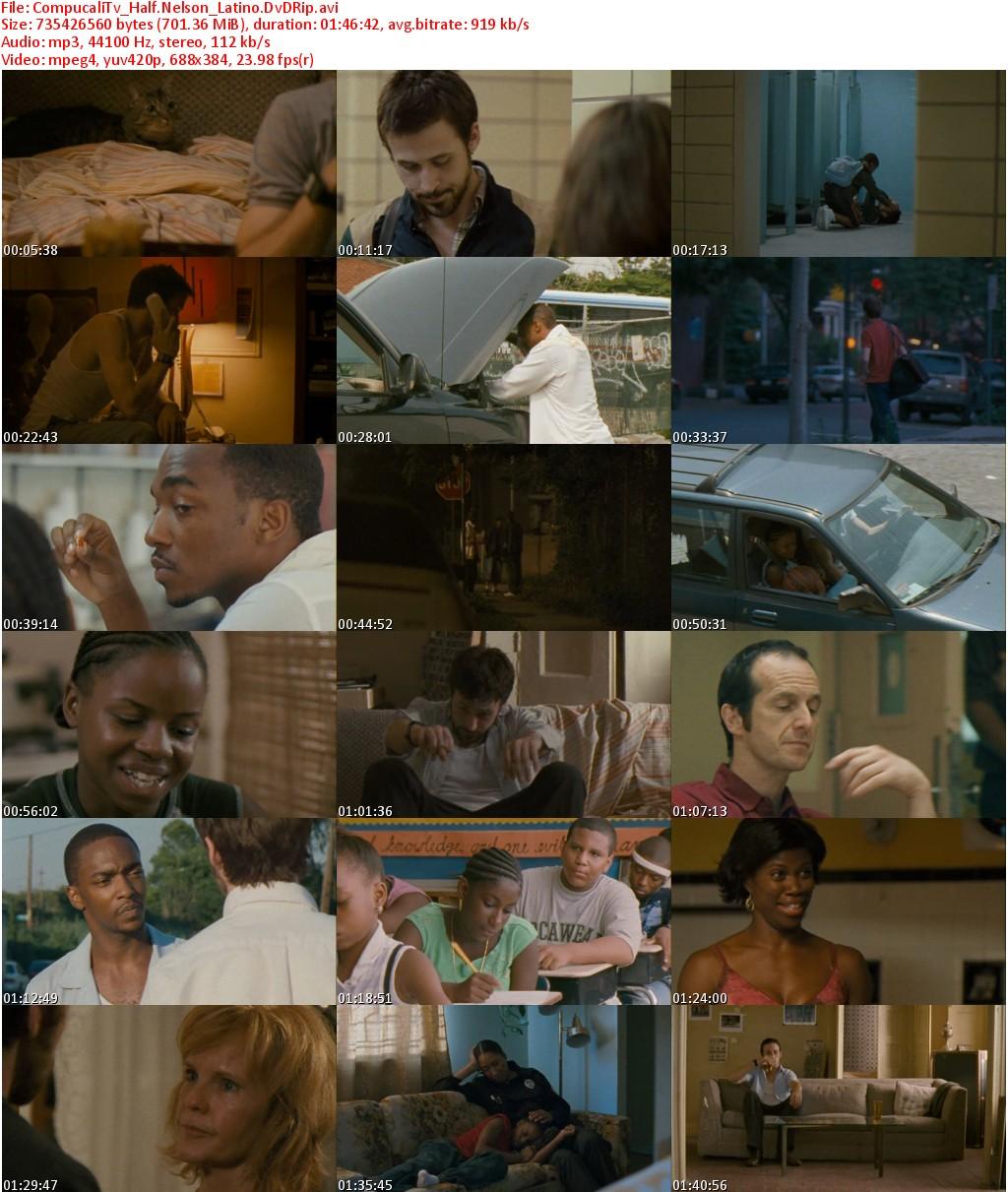 Capturas Half Nelson [DVDRip] Español Latino