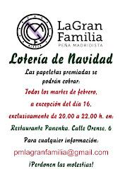 Cobros Lotería Peña -Nuevas fechas-