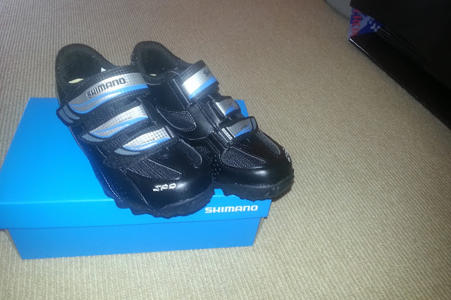 Shimano indoor cycling shoes