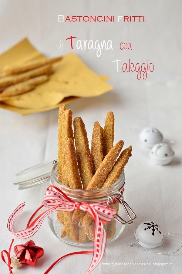 bastoncini fritti di polenta taragna e taleggio
