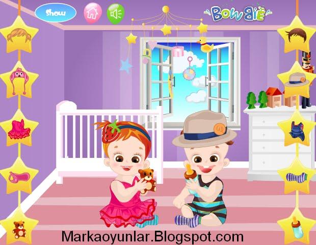 Kız Bebek ve Erkek Bebek Oyunları