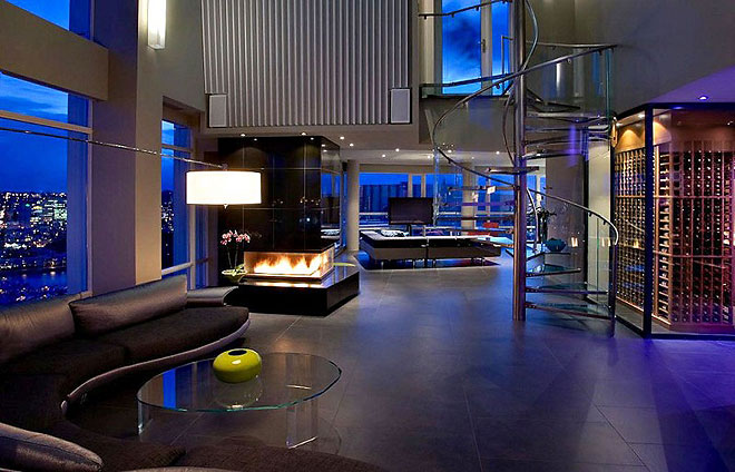 Architecture Corner Yaletown Penthouse By Feenstra