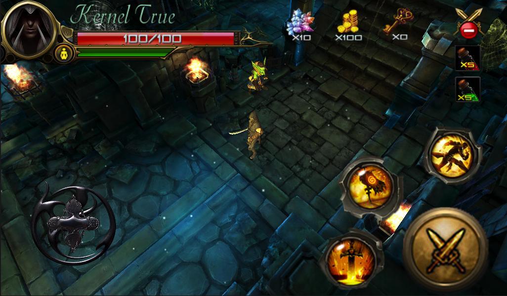 Black Warrior v1 Full Apk Data - Game Nhập Vai Hot Trên Di Động