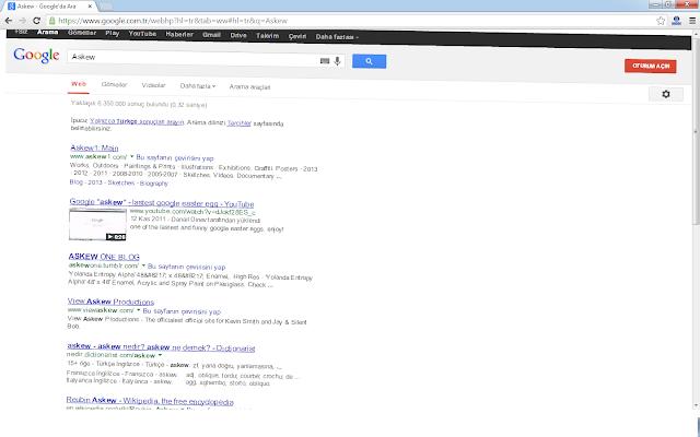 Google'de Bilinmeyenler