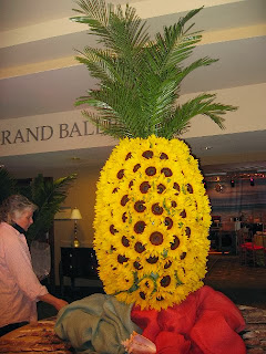 Centerpieces with Pineapple, Part 3