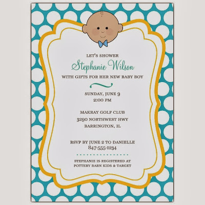 prefect baby boy shower invitations