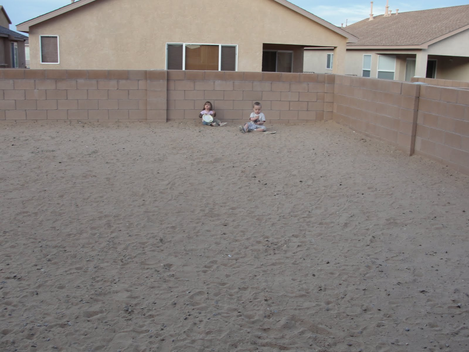 Sand For Backyard for instant beauty add elbow grease: our backyard