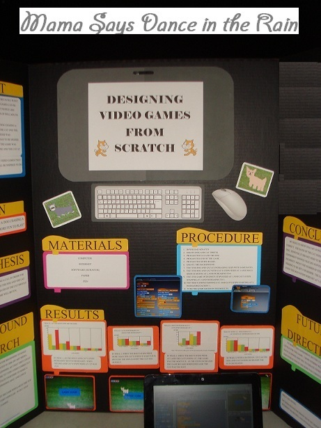 Science Project Video Video Game Science Project