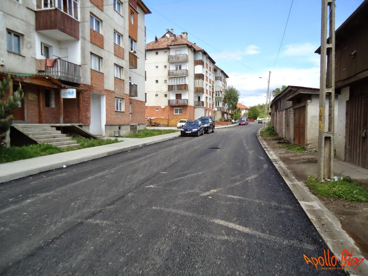 Asfaltare drum Toplita