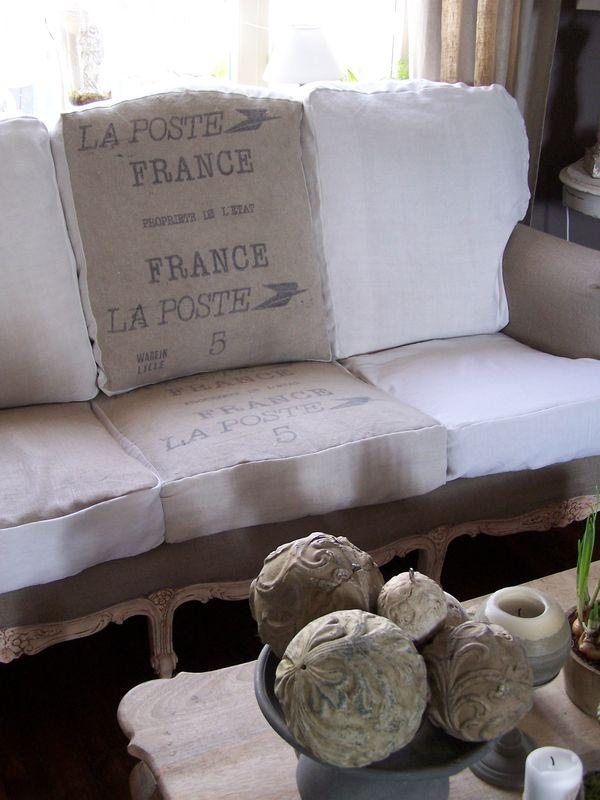 Cosas de palmichula decorar con tela de saco arpillera - Saco de arpillera ...