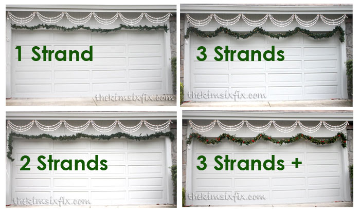 Comparing garlands