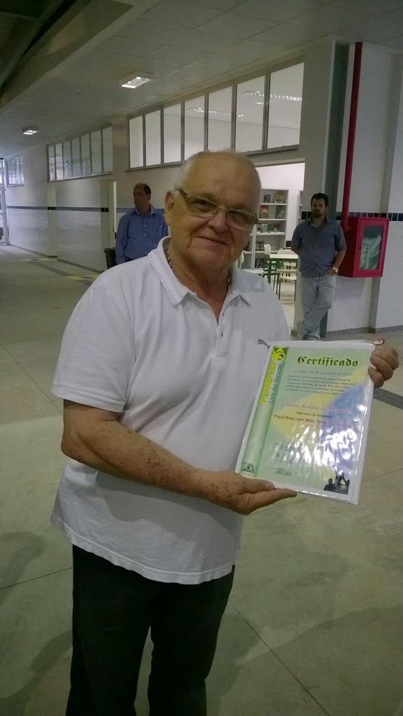 Natal em Teresópolis - Cláudio Roldan Mesquita é Recorde Brasileiro como Papai Noel com mais Tempo de atividade