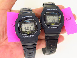 CASIO G-SHOCK DW-5200 PART A and B