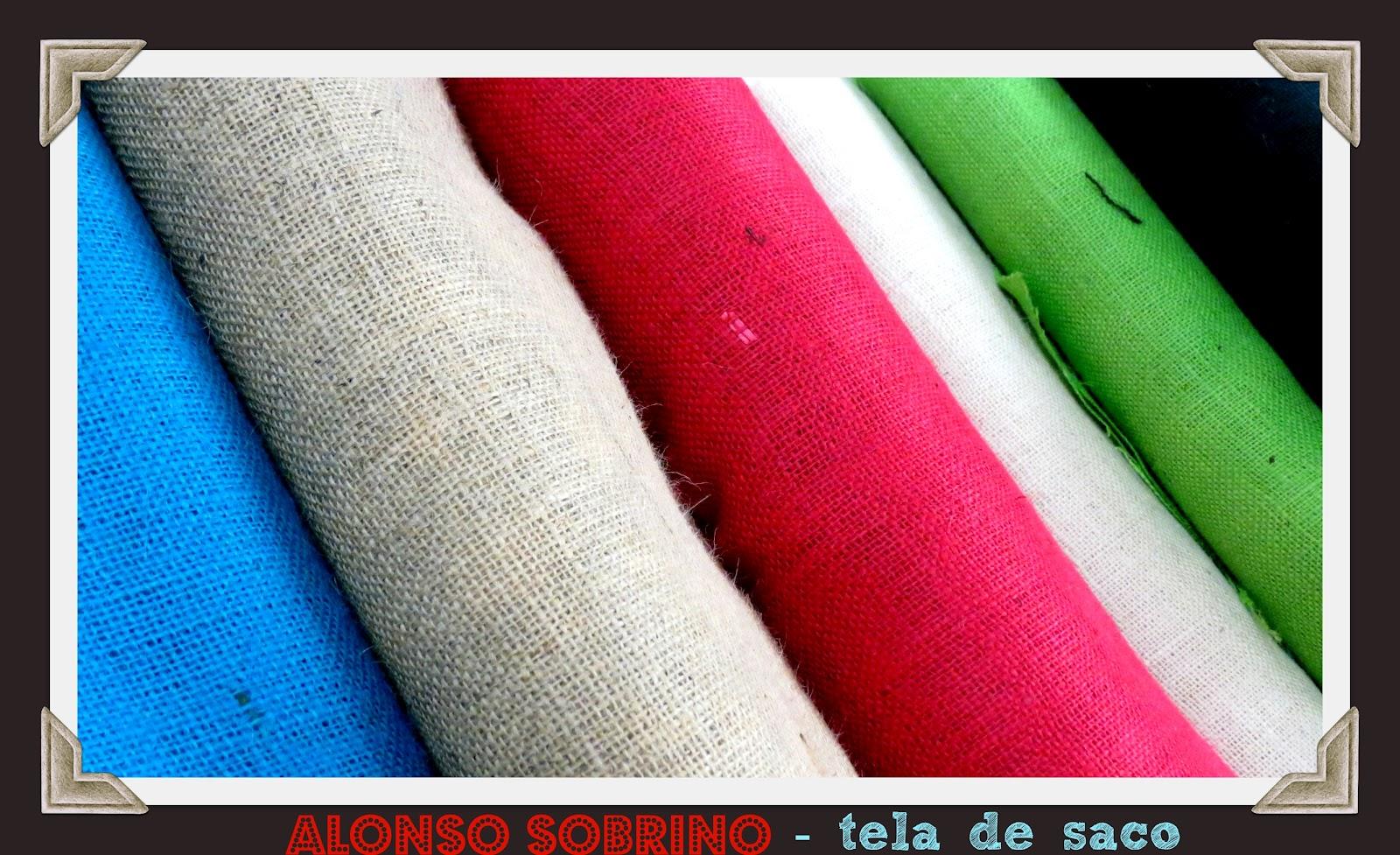 Alonso sobrino blog tela de saco - Manualidades con tela de saco ...