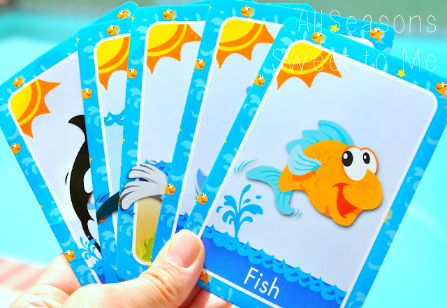 All seasons sweet to me under the sea week for Play go fish