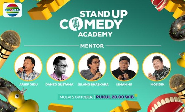 Mentor Stand Up Comedy Academy Indosiar