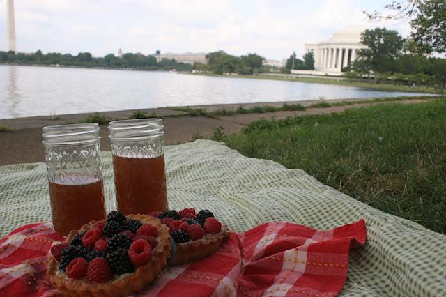 Berry Tartlets at the Tidal Basin, Washington, D.C.