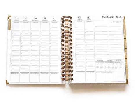 2016 ShePlans 2016 Weekly To Do List Planner w Appointment Times