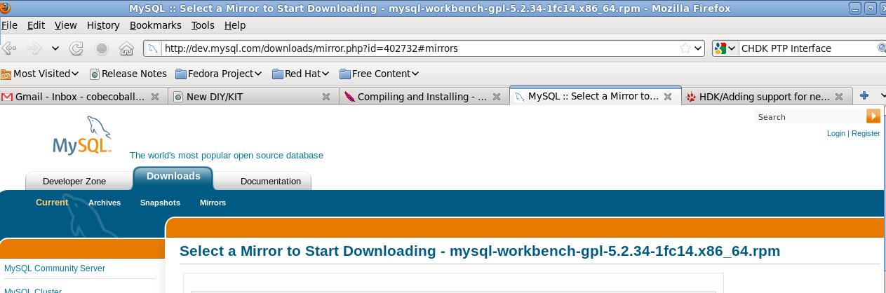Mysql Workbench 64-Bit