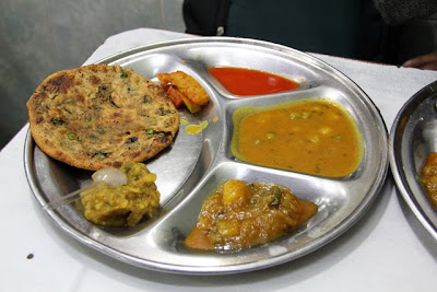 Parantha from the paranthe wali galli, Delhi