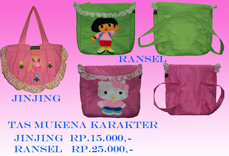 images of tas mukena karakter lucu untuk anak harga murah wallpaper