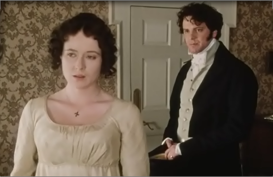 Image result for darcy proposes to elizabeth