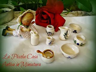antiche miniature da cucina