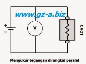 Mengukur Tegangan (Volt Meter)