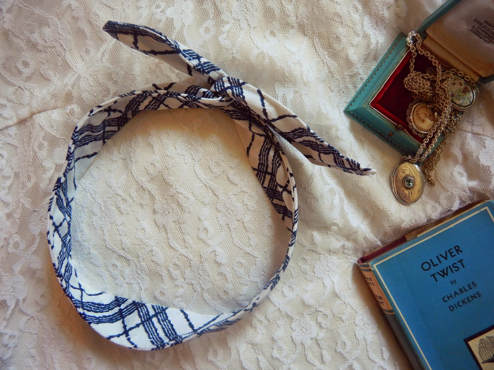 DIY Sew Wire Headband