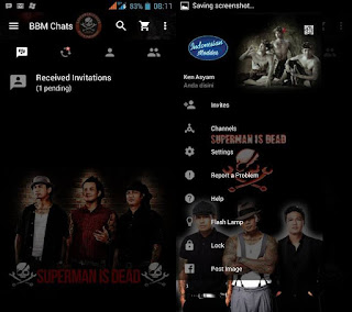 BBM Clone SID Lock Mode Apk V2.11.0.16 by Trangga Ken