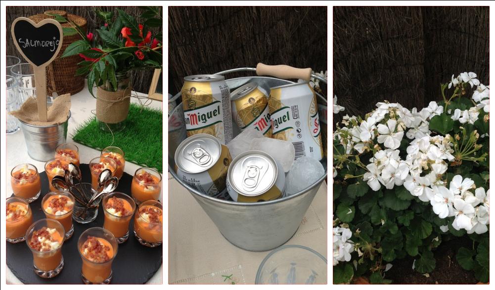 Un aperitivo en el jard n for Casa jardin buffet