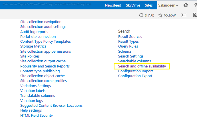 sharepoint 2013 disable sync button