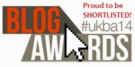 Shortlisted for the UK Blog Awards