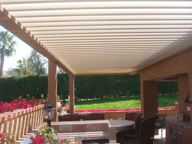 Atlas Awning Builds High Quality Equinox Louvered Roof Systems