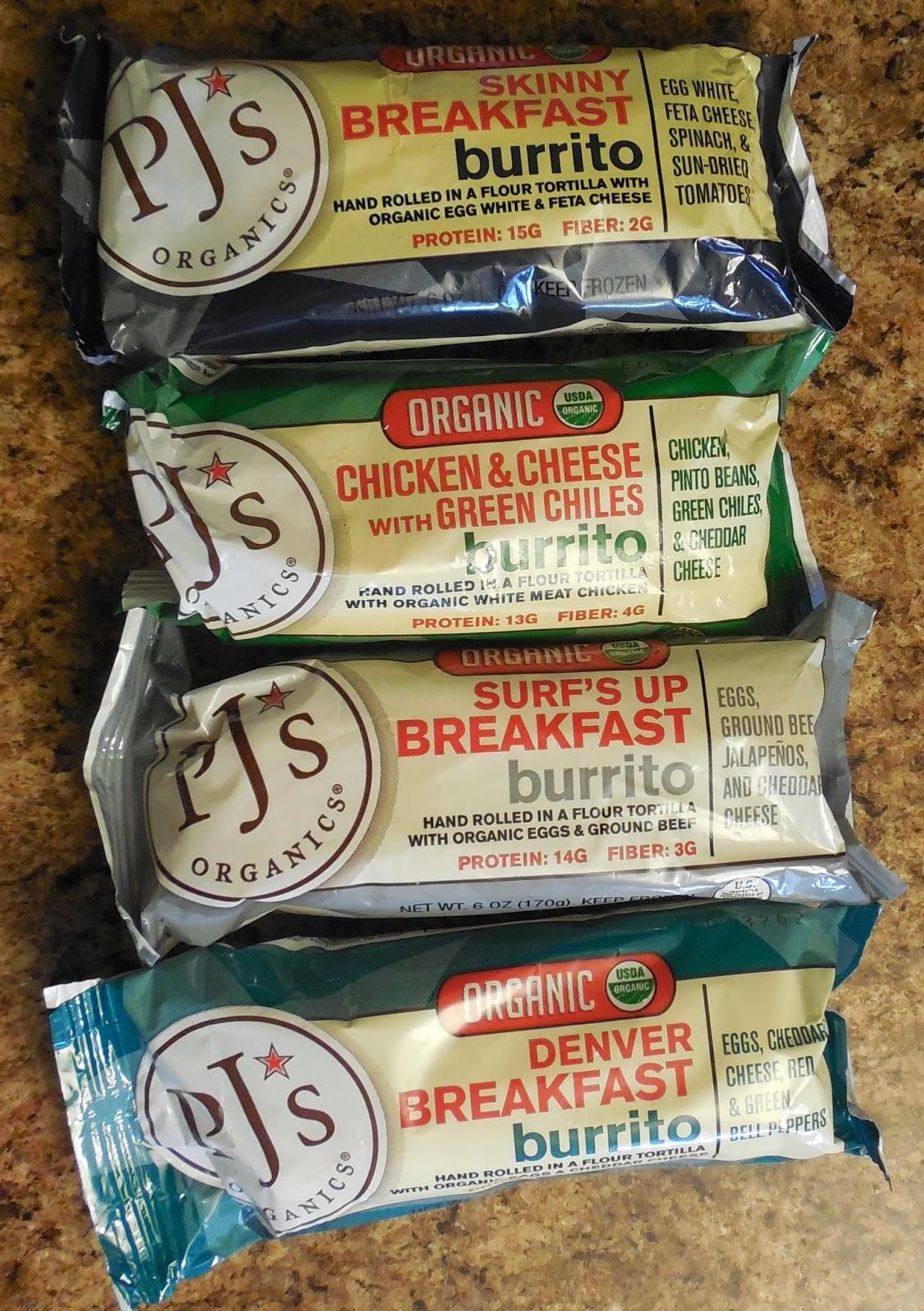 PJ's Organic Burritos
