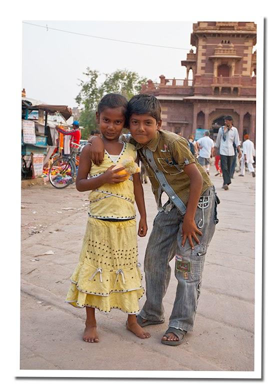 Niños en Jodhpur