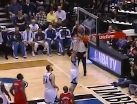 Ricky Rubio misses layup against Clippers