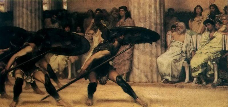 alma-tadema pyrrhic dance