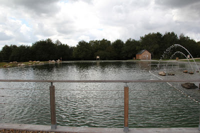 Le blog de yves ollivier la baignade naturelle de mont pr s chambord - Piscine naturelle chambord ...