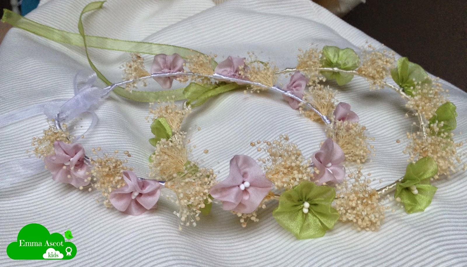 Coronita flores niñas