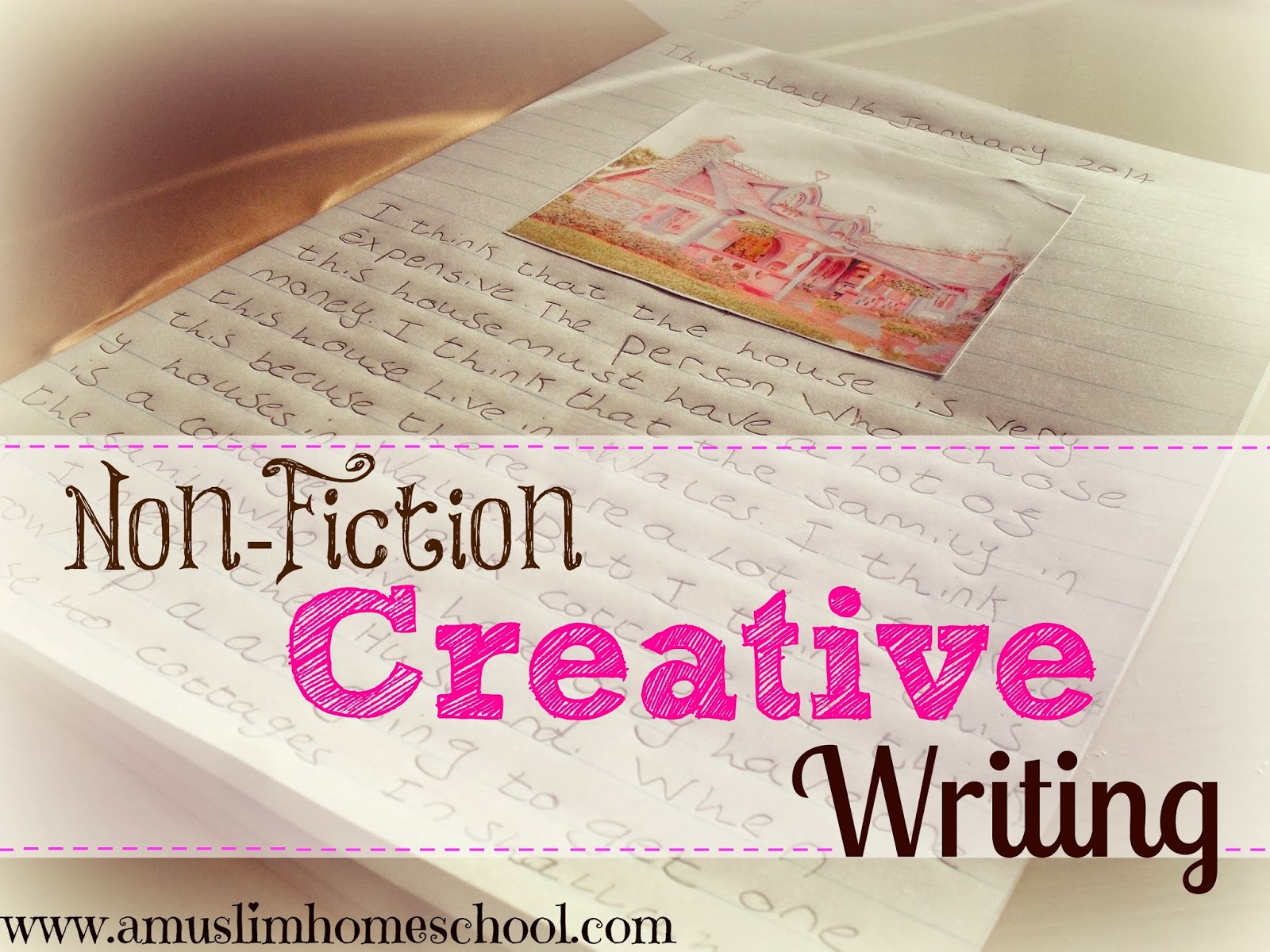 non fiction creative writing picture promts