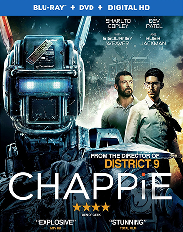 Chappie 2015 BRRip 480p 350mb ESub