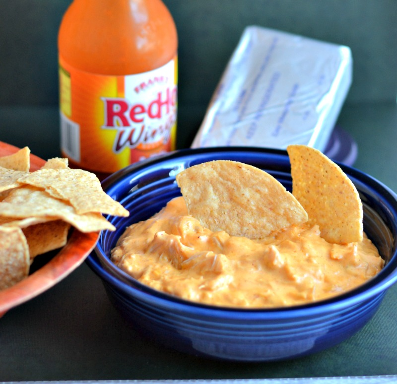 ... Fast Food to Fresh Food: Buffalo Chicken Dip #CrockPot Challenge Day 2