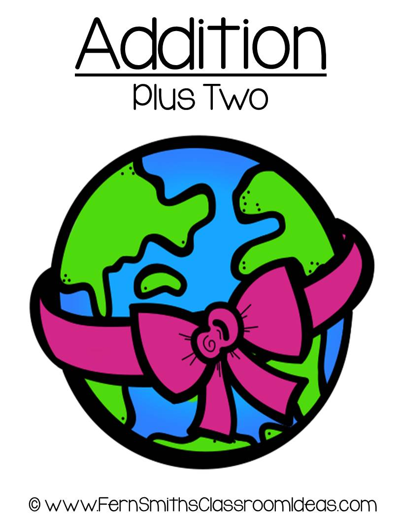 Earth Day - Addition Plus Two Center Game
