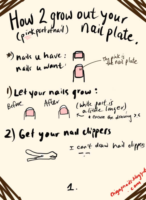 NAILHOLICS UNITE!: How To Grow Out Your Nail Plate