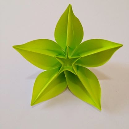 Couple Of Years Back A Close Friend Taught Afsheen How To Shape An Origami Flower Since That Day Talented Who Already Loved Crafting From Her