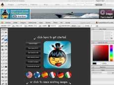 Editor de fotos online: Sumo Paint Online
