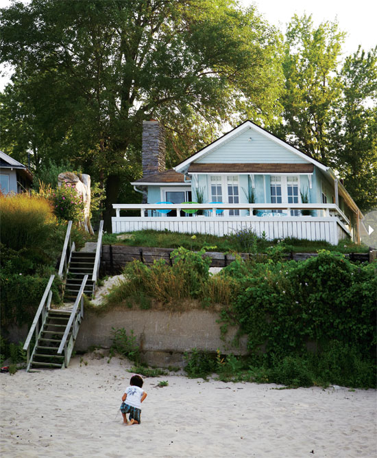 Seaside style boho beach house Beach cottage house